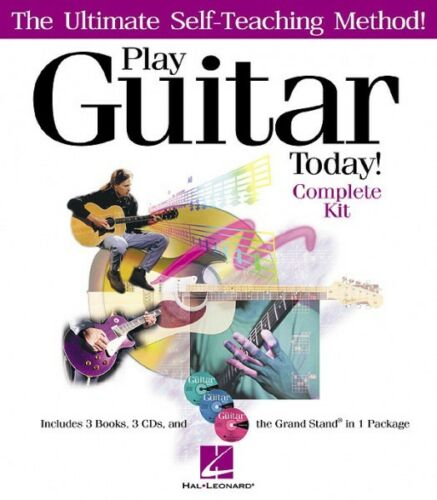 The Ultimate Self-Teaching Method Ins 000695662 Play Guitar Today Complete Kit