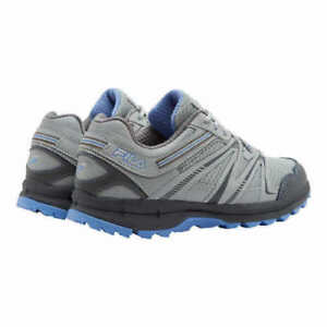 Trail Running Hiking Shoes Gray Blue