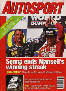 Autosport-15-Aug-1991-Hungarian-Grand-Prix-Ayrton-Senna-GT40-Old-and-New