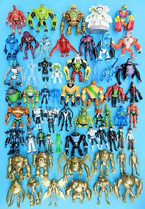 Ben 10 Aktion Figuren 10cm - Auswahl Aus Ultimate, Alien Force, Omniverse