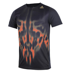 ADIDAS Men's Adizero Climacool Performance Short Sleeve Running Top Tee