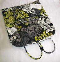 Vera Bradley Baroque Backsack Backpack Bookbag Purse Drawstring Baby Beach