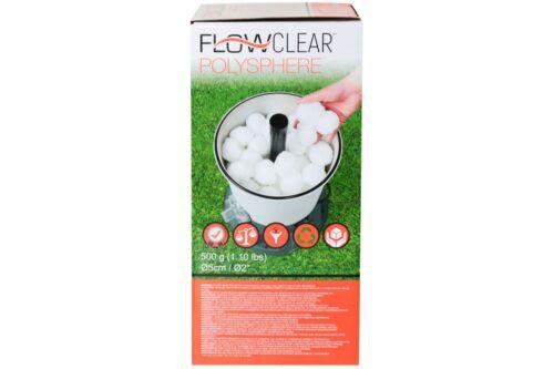 Filterbälle BESTWAY FLOW CLEAR 500g für Sandfilterpumpe Pumpe Filtermaterial