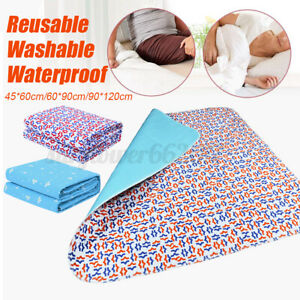 Washable-Underpads-Bed-Reusable-Pad-Waterproof-Incontinence-For-Hospital-Home-AU