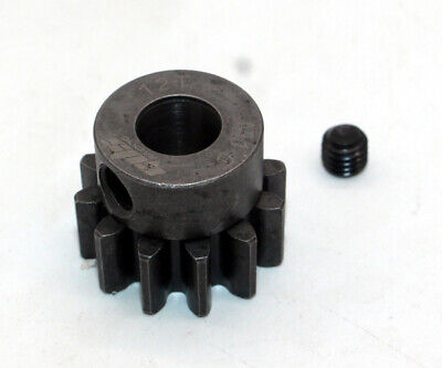 GDS Racing 8mm Shaft MOD 1.5 M1.5 Pinion Gear for RC Model Car Crawler FG HPI Losi /& More 12T