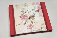 Vintage Birds Organiser - Weekly Calendar,Notepad,Address Book -Ideal Xmax Gift