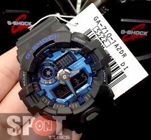 brand new 32b18 a3313 Details about Casio G-Shock Energetic Look Super illuminator Men's Watch  GA-710-1A2