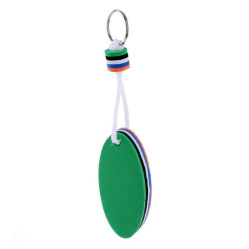 4Pc EVA Yacht Sailing Boating Floating Key Ring Water Sports Key Chain Rings