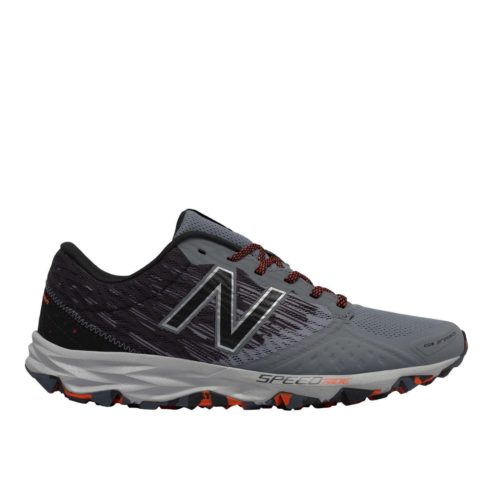 Men's New Balance T690V2 Running Shoe Gunmetal Size 9.5 #NJN5U-530
