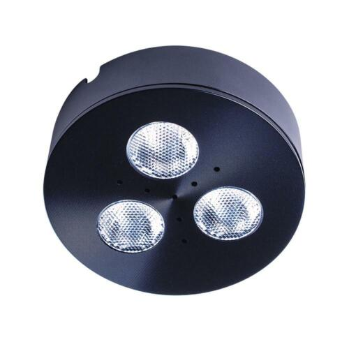 Armacost Lighting Pro-Grade Black LED Satin Bright White Dimmable Puck Light