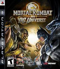Mortal Kombat vs. DC Universe - Playstation 3 Game