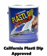 Performix Plasti Dip Spray 50 Matte Black Gallon Low VOC California Appoved CA