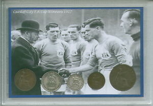 Cardiff-City-The-Bluebirds-Vintage-Fred-Keenor-FA-Cup-Winners-Coin-Gift-Set-1927