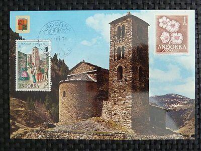 Realistisch Andorra Mk 1975 Ausstellung Maximumkarte Carte Maximum Card Mc Cm A9485 Ideales Geschenk FüR Alle Gelegenheiten Spanien & Kolonien Diverse Philatelie