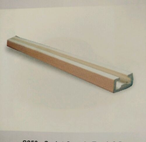 STATIC CARAVAN-Ceiling Fix Slim Curtain Track only UPTO 50cm /&cut 2 size service