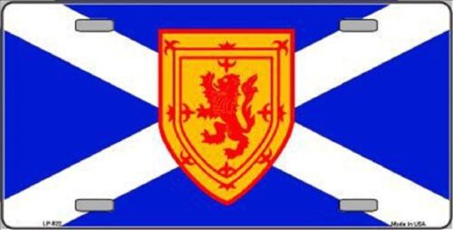 Scotland St Andrews Flag Metal Novelty License Plate Tag