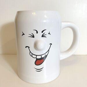Mg Laughing Face Beer Coffee Cup Mug Ebay
