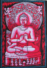 Indian Wall Hanging Buddha Cotton Poster Home Decor Tapestry 40*30 Decor*