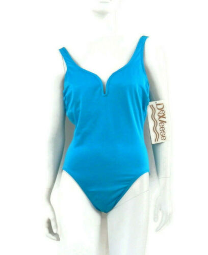 70's DeWeese Swimsuit Maillot Bombshell Bathing S… - image 1
