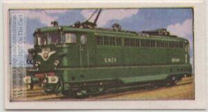 French-Railways-B-B-16-500-Type-Train-Engine-Vintage-Ad-Card