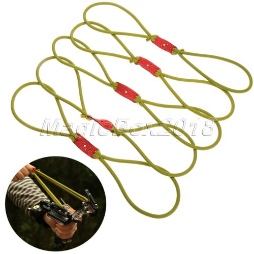 Green Elastic Elastica Bungee Rubber Band For Slingshot Catapult Outdoor Hunting