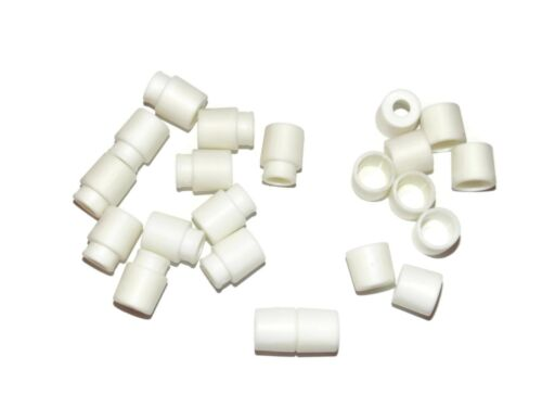 White Breakaway Pop Barrel Connector Buckles for 550 Paracord Cord Crafts
