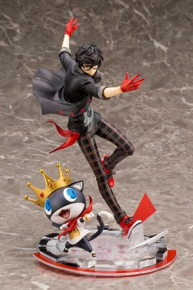 Nuevo Kotobukiya 1 8 Artfxj persona 5 bailando en Estrellalight héroe y Morgana Estatua