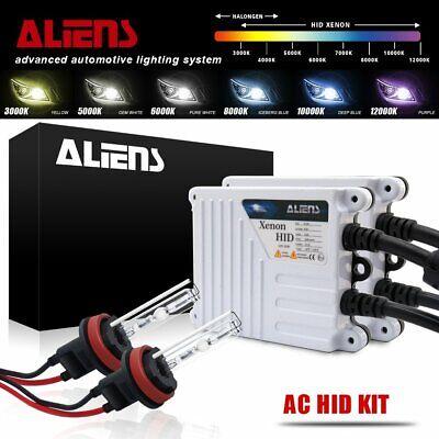 9012 10000K 2 Year Warranty XtremeVision 55W AC Xenon HID Lights with Premium Slim AC Ballast 10K Dark Blue