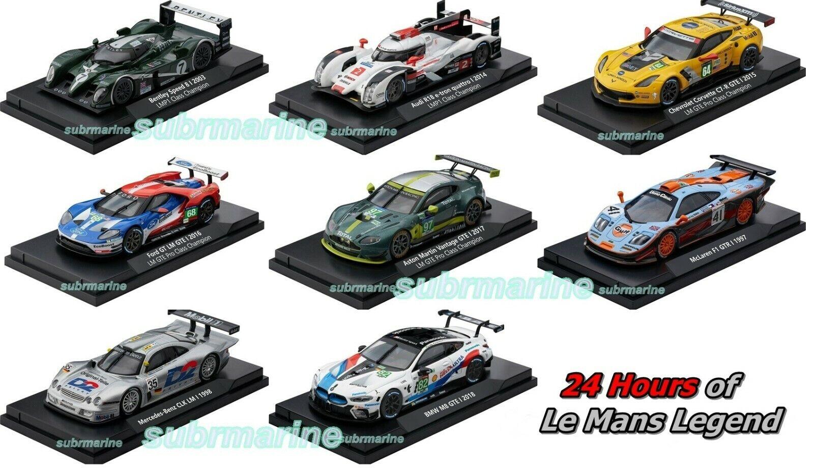 24h Le Mans Racing Challenge Die-Cast Limited 1//43 Chevrolet Corvette C7-R GTE