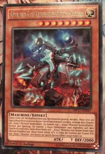 súper anti-Kaiju-máquina de guerra..... Yu-Gi-Oh Meca-dogoran mp17-de047 Rare