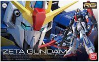 Gundam 1/144 Rg 10 Zeta Gundam Msz-006 Model Kit Bandai Real Grade