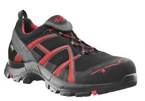 Arbeitskleidung & -schutz Schuhe & Stiefel Humor Haix Black Eagle Safety 40 Low Leichter S3-sicherheitsschuh Black/red
