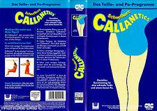 """VHS - """" Schnellkurs CALLANETICS - Das Taille- und Po-Programm """""""