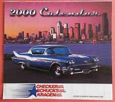 """2000 Checker-Schuck's-Kragen Auto Parts 10 1/2"""" Inch Tall X 11 1/4"""" Inch Wide"""