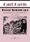Three Spirituals: (medium Voice/orch Sc) by Faber Music Ltd (Paperback, 2008)