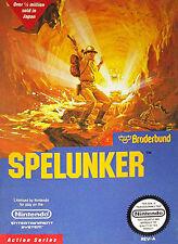 SPELUNKER CLASSIC ORIGINAL NINTENDO GAME RARE NES HQ