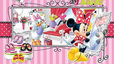 Cordiale Disney-foto-carta Da Parati Disney Minnie Mouse Boutique-dimensioni 368 X 254 Cm - 4-partei-mostra Il Titolo Originale
