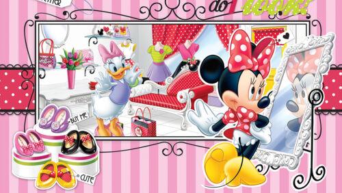 Disney-Photo-Papier peint Disney Minnie Mouse Boutique-taille 368 x 254 cm 4-Première partie