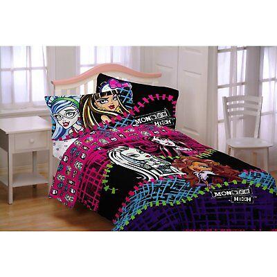 Mattel Monster High All Ghouls Allowed Comforter, Doppio/taglia Nuove Varietà Sono Introdotte Una Dopo L'Altra