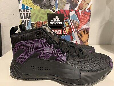 Adidas Dame 5 J Marvel Black Panther EG2627 Size 4 Youth Big Kids Basketball 192617392200 | eBay