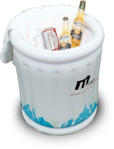MSPA Inflatable Can Cooler Ice Beverage Bottle Party Bucket Hot Tub Accessories