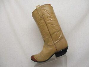 TONY LAMA Braun Leder Lizard Skin Stiefel Cowboy Stiefel Skin Damenschuhe Größe 6.5 B ... 315660