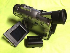 Sharp Camcorder Vl Wd250u Mini Dv Camera And 1 Battery