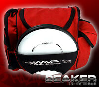 Red Mvp Beaker Medium Sized Disc Golf Bag Holds About 15 Discs Fast