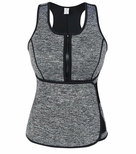 SlimmKISS Neoprene Sweat Vest for Women Slimming Body Shaper with Adjustable Wa