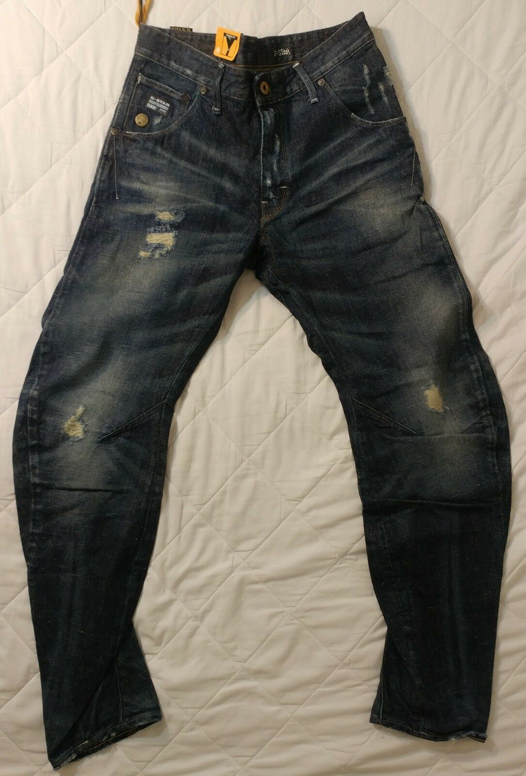New G Star Raw 3D Loose Arc Tapered Jeans