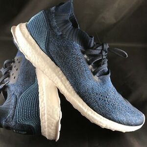 ff6526d8d Adidas Ultra Boost Uncaged Parley Legend Blue Core BY3057 11.5 46 ...