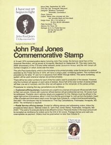 7917-15c-John-Paul-Jones-Stamp-1789-USPS-Souvenir-Page
