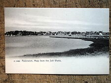 Padanaram from the Salt Woks, Dartmouth Ma 1905s