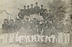 ORIGINAL-OCCUPATIONAL-CABINET-PHOTO-FIREMEN-c1899-P-F-D-PHILADELPHIA
